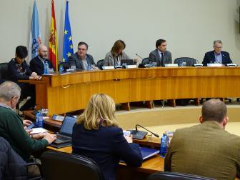 O presidente da Fegamp comparece na comisión de incendios no Parlamento