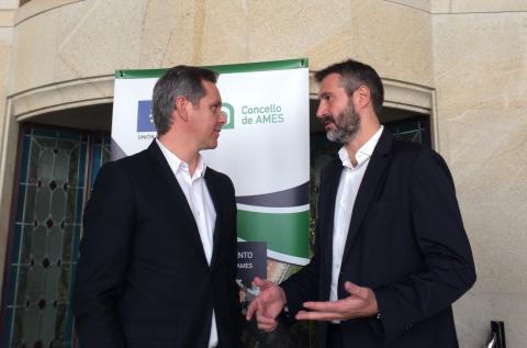 Alberto Varela, FEGAMP, Federación Galega de Municipios e Provincias, José Manuel Miñones, Ames