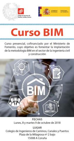 Cartel curso BIM