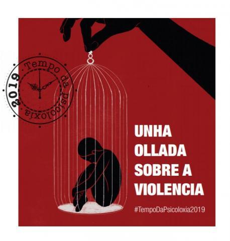 Cartel Unha ollada sobre a violencia
