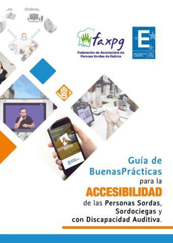 Cartel guía accesibilidade 2019