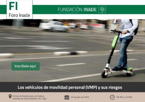 Cartel Foro vehículos mobilidade persoal