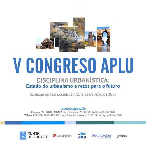 Cartel V Congreso disciplina urbanística