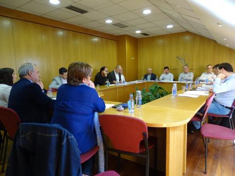 Membros da Comisión Exectiva da Fegamp