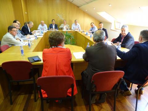 Comisión Executiva da Fegamp ordinaria do mes de maio