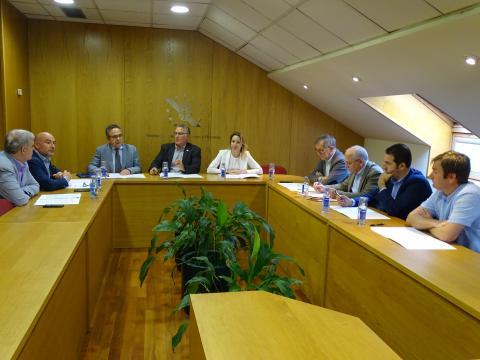 Reunión sobre a ampliación para os concellos do prazo de xustificación das obras do Plan marco