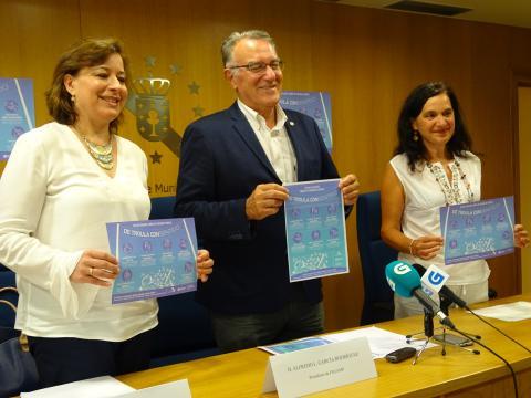"""Presentación da campña"""" De teoula CONsentido, as fiestas gallegas libres de violencias sexistas"""" 2018"""