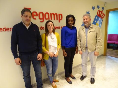 reunión Fegamp e Fondo Galego