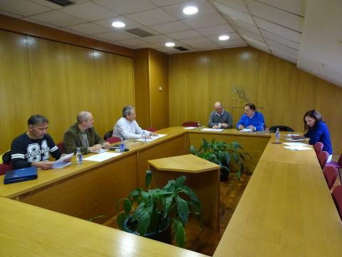reunión da mesa de formación na Fegamp
