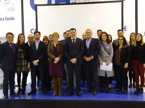 O presidente da Fegamp no XII Workshop de Emprego do Centro Superior de Hostelería de Galicia (CSHG)