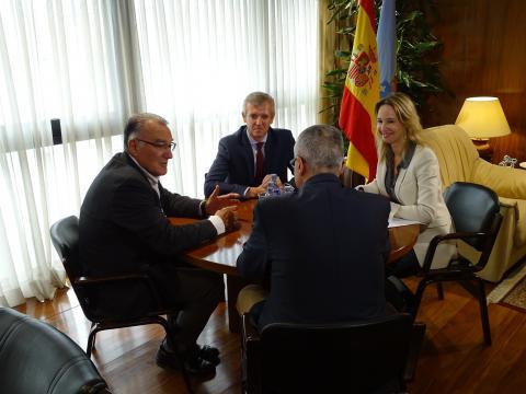 reunión na Fegamp coa Xunta tema socorristas