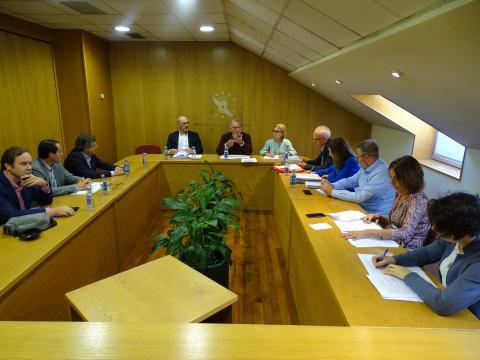 reunión interdepartamental na Fegamp tema autocaravanas 2019