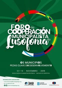 Cartel Foro cooperación municipalista lusofonía