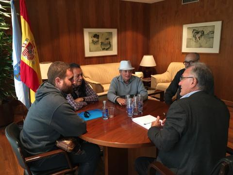reunión AMATEGA-Fegamp
