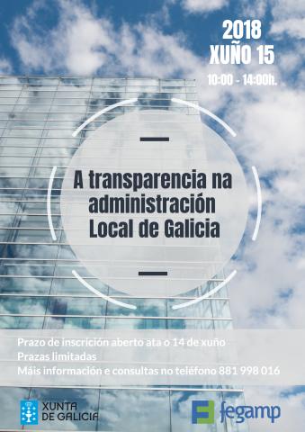 cartel xornada transparencia fegamp 2018